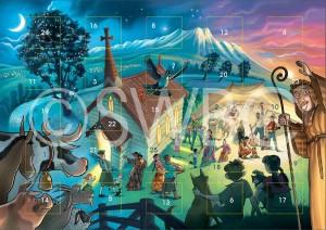 Kiwi Advent calendar
